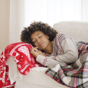 sleep better during the holiday season