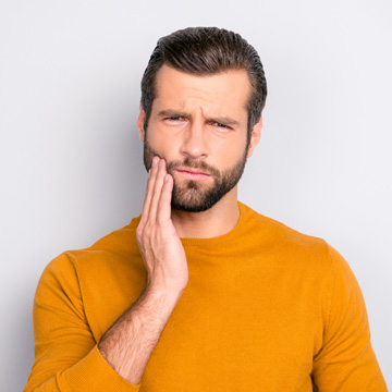toothache after dental crown